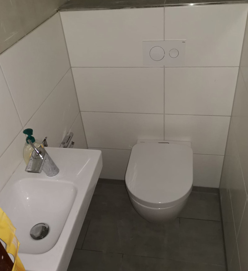 WC sanieren